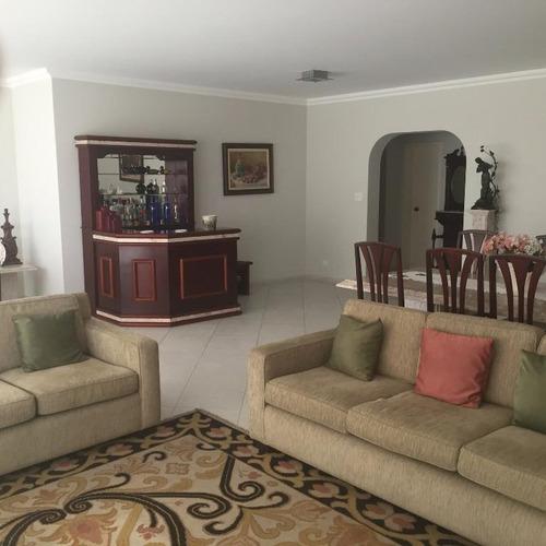 lindo apartamento 4 dormitórios, sendo 2 suítes - pitangueiras - guarujá - ap0960