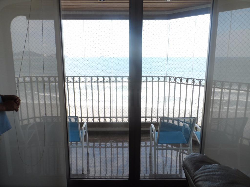 lindo apartamento 4 suítes - frente mar com lazer - astúrias - guarujá - ap1240