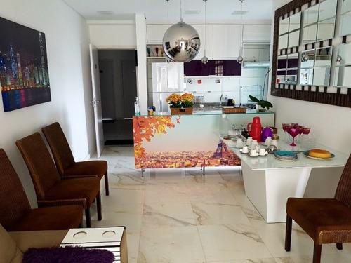 lindo apartamento acabamento de 1ª - 273