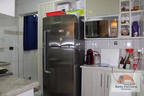 lindo apartamento com 1 dormitório na vila guilhermina em praia grande - ap0253