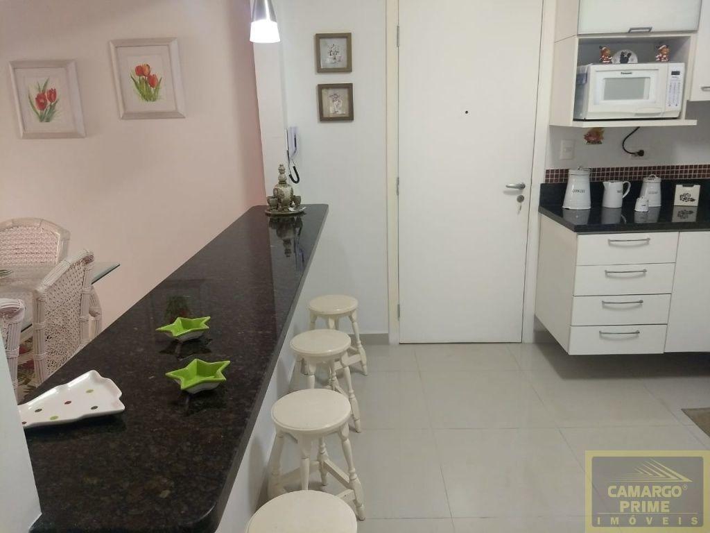 lindo apartamento com 110 m², vista para o mar, na praia astúrias no guarujá. - eb79602