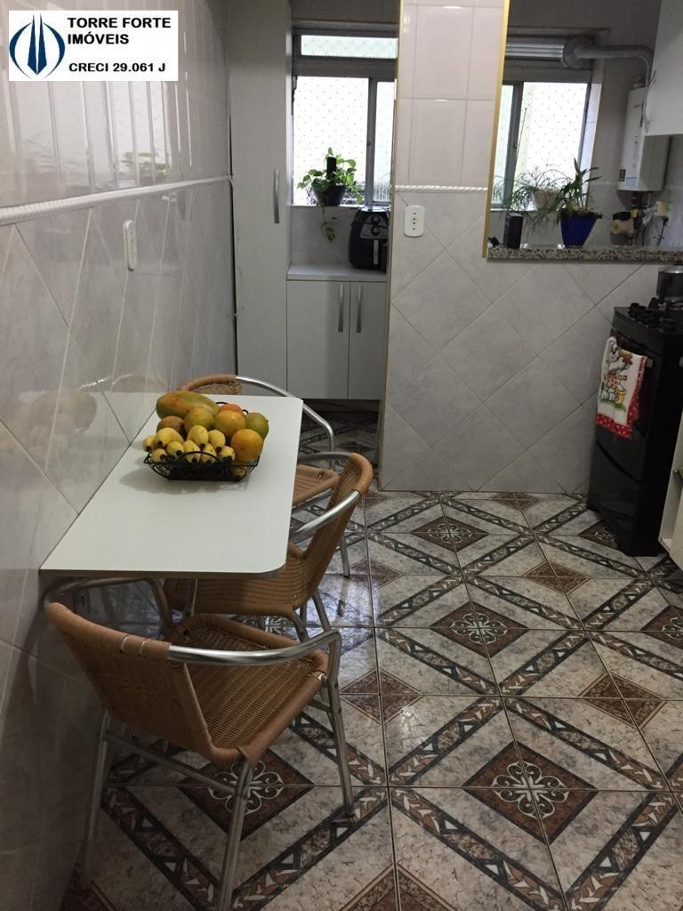 lindo apartamento com 2 dormitórios e 1 vaga em jordanopolis em sbc - 1408