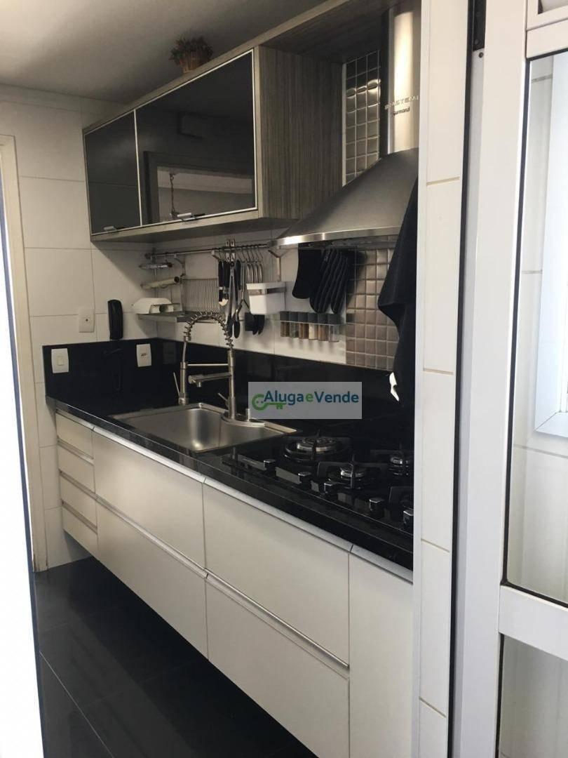 lindo apartamento com 2 suítes à venda no condomínio parque clube, 91 m² por r$ 610.000 - vila augusta - guarulhos/sp - ap0153