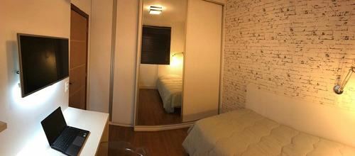 lindo apartamento com 3 dorms - jd ampliação - ruy 78220
