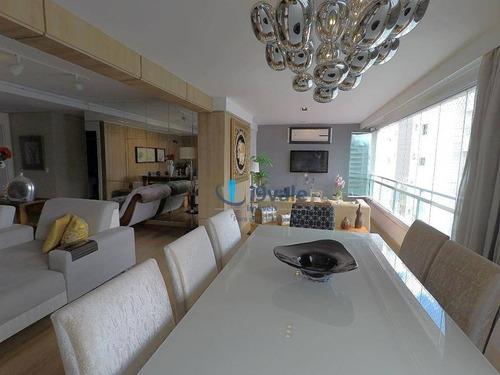 lindo apartamento com 4 dormitórios à venda, 182 m² grand club vila ema - são josé dos campos/sp - ap1781