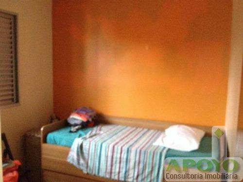 lindo apartamento com 55 m² - yo2917