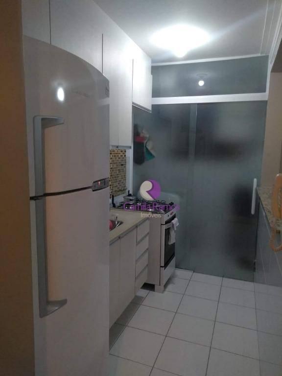 lindo apartamento com moveis planejados à venda,- parque santa rosa - suzano - ap0637