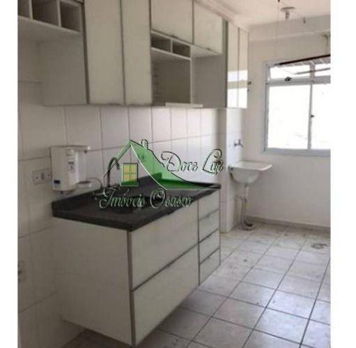 lindo apartamento com planejados, bairro bussocaba, osasco.