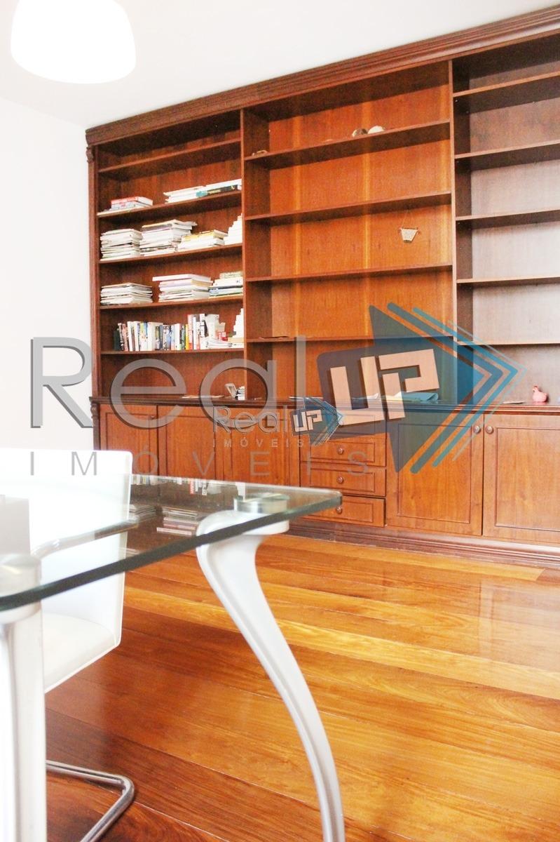 lindo apartamento com planta ampla  na av. atlântica - 91