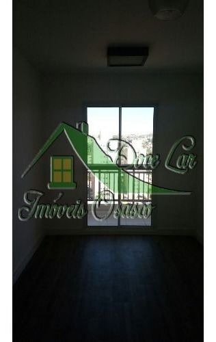 lindo apartamento com varanda. condomínio flex iv. carapicuíba.