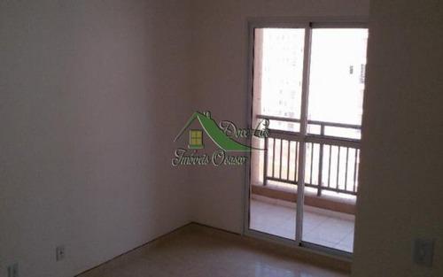 lindo apartamento com varanda. flex 3 carapicuíba.
