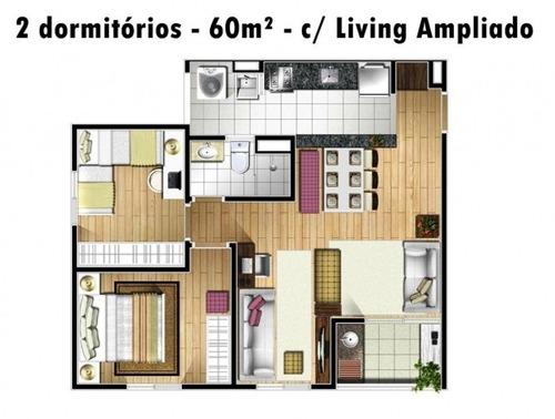 lindo apartamento conquista jardim - vila noemia - mauá - 324