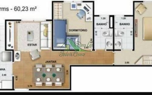 lindo apartamento c/suite. nações club de morar. barueri.