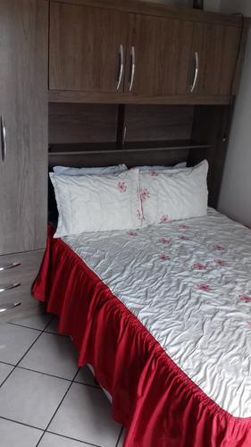 lindo apartamento de 1 dormitório em praia grande