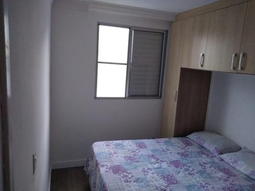 lindo apartamento de 50m² 2 dorm. - pq. são vicente - mauá -