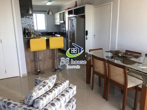 lindo apartamento decorado -  bairro campestre - 5986
