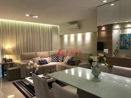lindo apartamento decorado e espaçoso com 2 dormitórios para alugar - edifício cyan boulevard das águas - vila jaboticabeira - taubaté/sp - ap1479