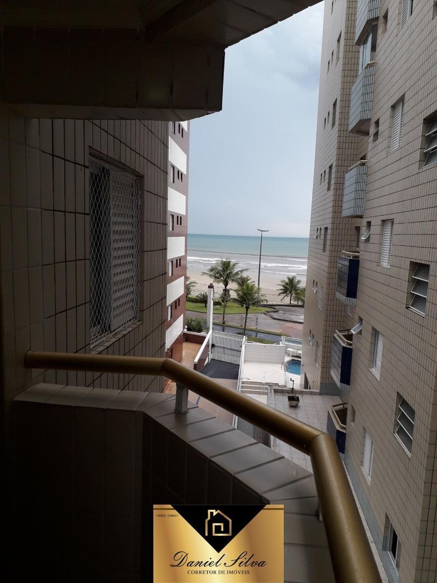 lindo apartamento frente para o mar com varanda gourmet