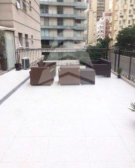 lindo apartamento garden mobiliado e decorado com 186 metros, para locação no edifício diogo na vila nova conceição, por r$16.000,00 o pacote!  - 548d