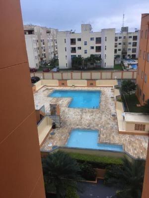 lindo apartamento lado praia! com piscina, 02 quartos.