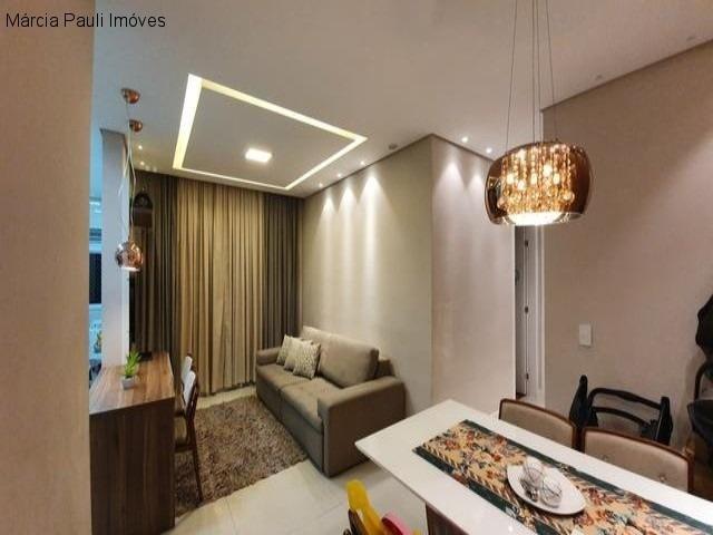 lindo apartamento no condomínio flex - jundiaí/sp - ap04477 - 34972793