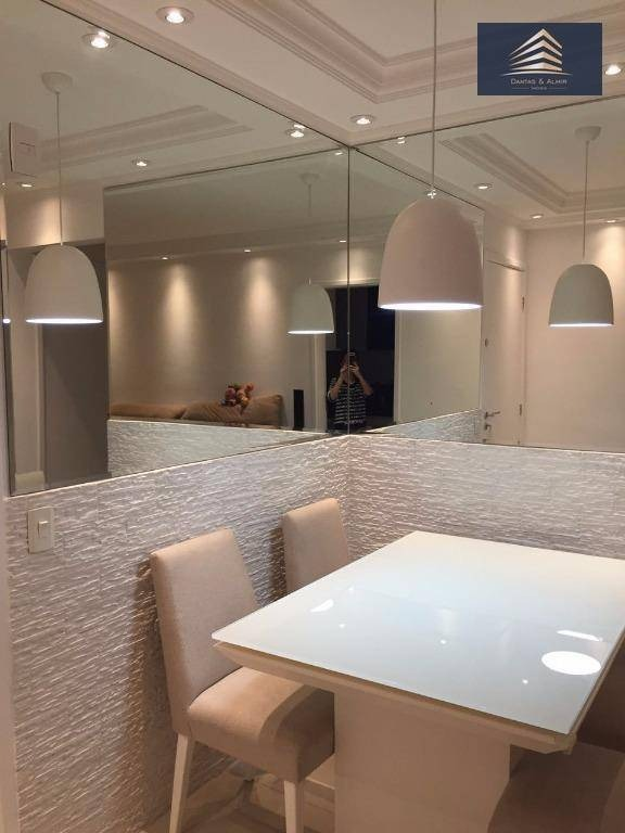 lindo apartamento no condomínio suprema vila augusta, 64m², 2 vagas, aceita troca. - ap0165
