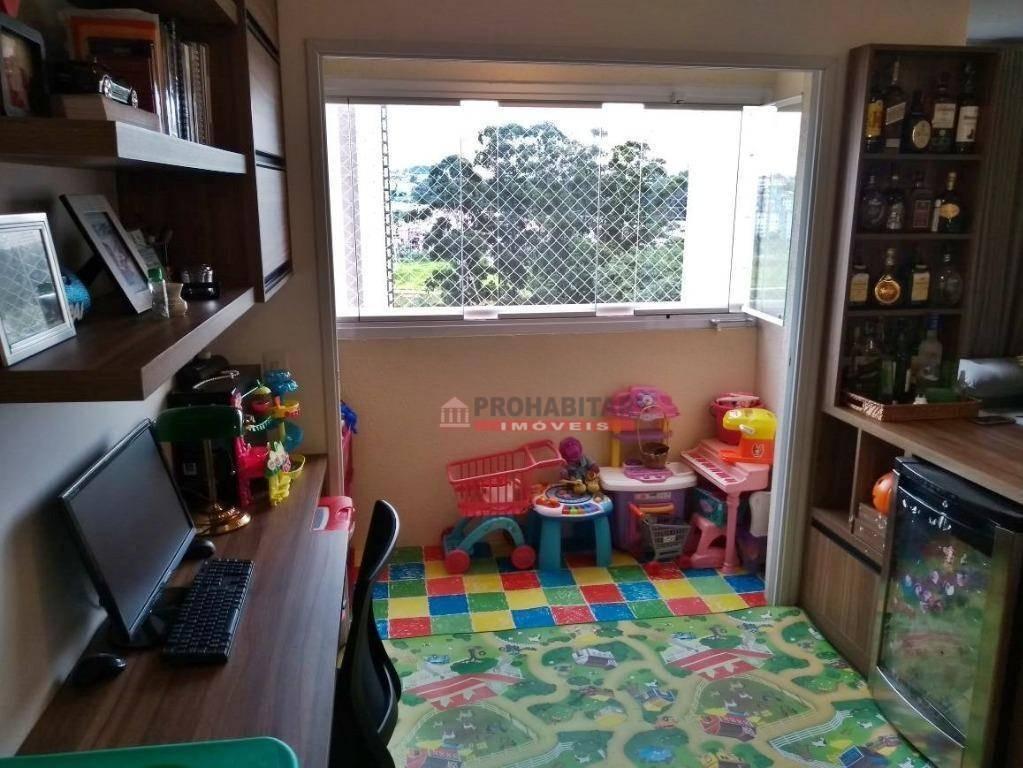 lindo apartamento no condomínio terrara em interlagos! - ap2814