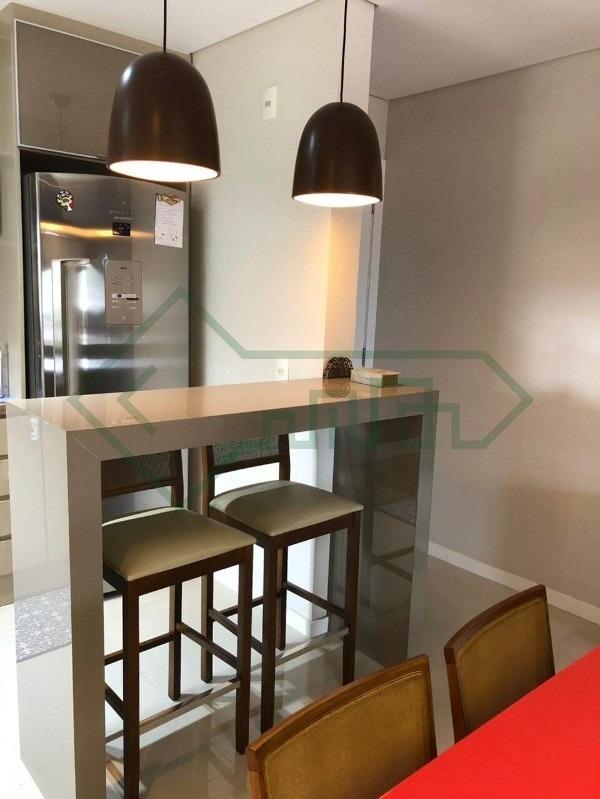 lindo apartamento no glória | 01 suíte + 01 dormitório | 02 vagas de garagem - sa00998 - 34393042