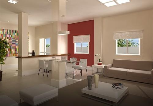 lindo apartamento no homero thon - 57 m² - 1241