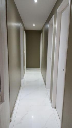 lindo apartamento no jaguaré - 3 dormitórios. telma 80215