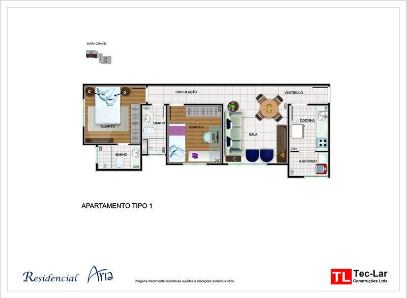 lindo apartamento novo 2/4 no buritis - 1492