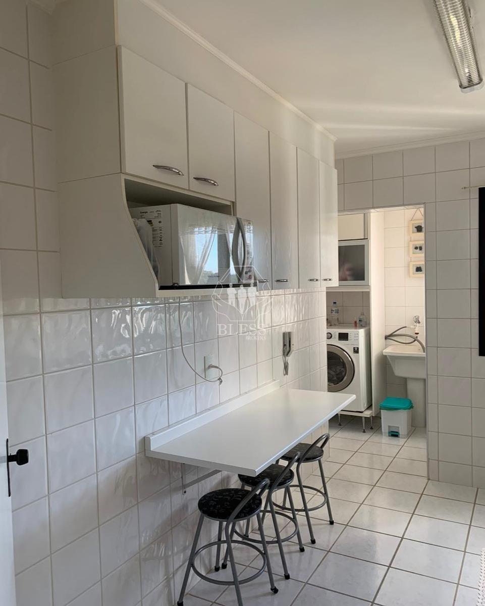 lindo apartamento para locação com vista livre no residencial chácara primavera!!!! 3 dormitórios com armários planejados, duas vagas de garagem e áre - ap03085 - 68121461