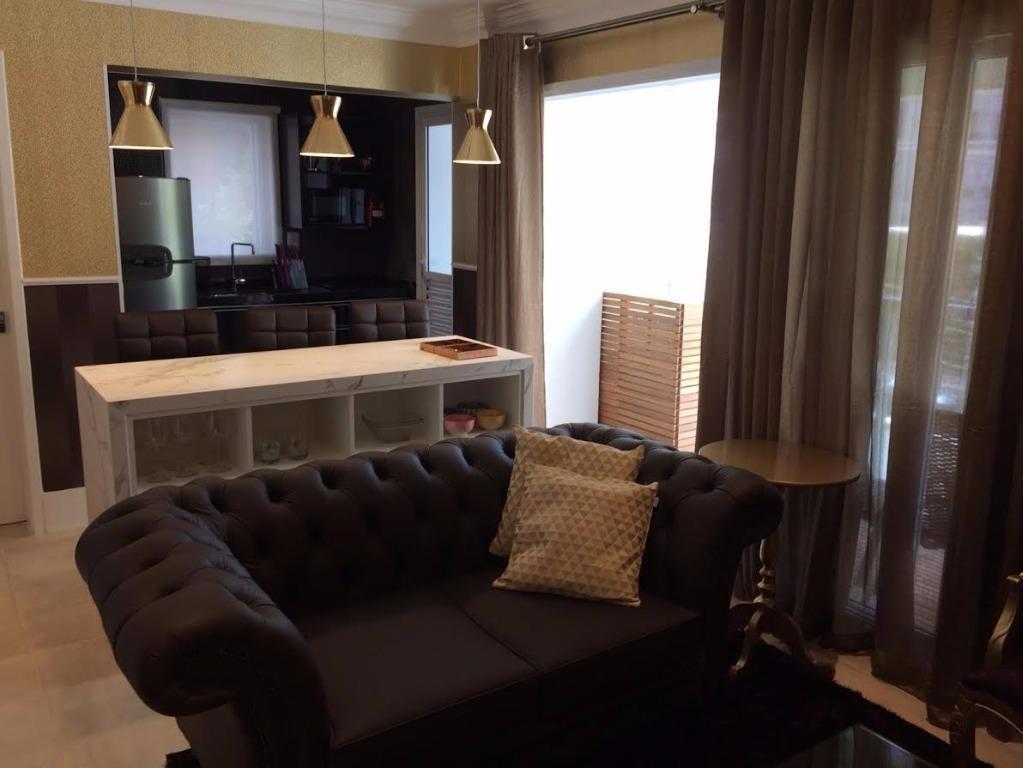 lindo apartamento para locação no itaim bibi - 1 dormitório! - ap0487