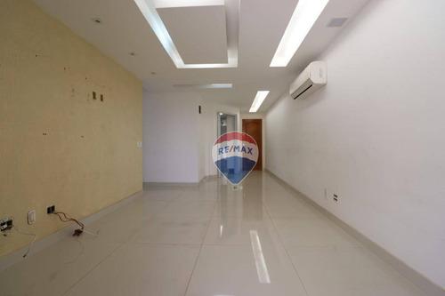 lindo apartamento recreio. 119m2 com 3 qtos, 1 suíte, varanda gourmet. - ap0020