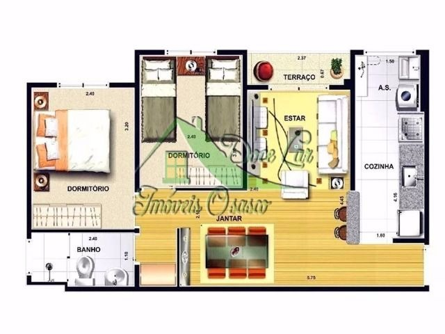 lindo apartamento, reserva nativa, carapicuíba.