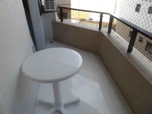lindo apartamento residencial à venda, praia das astúrias, guarujá. - ap1135