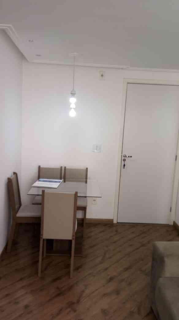 lindo  apartamento semi-mobiliado - 196