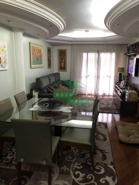 lindo apartamento  semi mobiliado no bairro vila carrão, 3 dorm, 1 suíte, 2 vagas, 120 m aproximadamente na rua eng. pegado prox delegacia. - 691