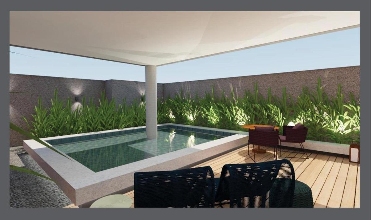 lindo apartamento tipo giardino no saguaçu | 01 suíte + 01 dormitório | 126 m² privativos - sa01269 - 34871208