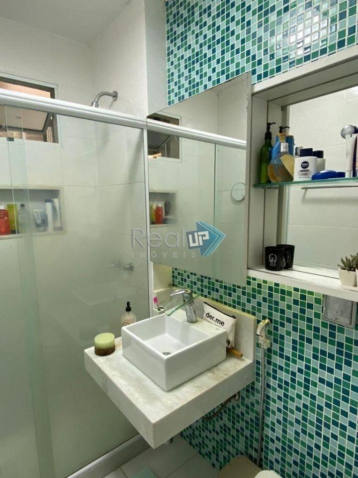 lindo apartamento todo reformado, silencioso, no leblon, 2 quartos - 18357