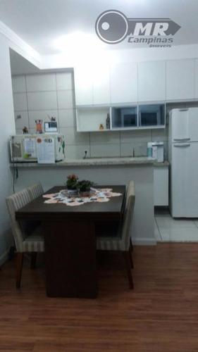 lindo apartamento à venda, jardim residencial ravagnani, sumaré. - ap0785