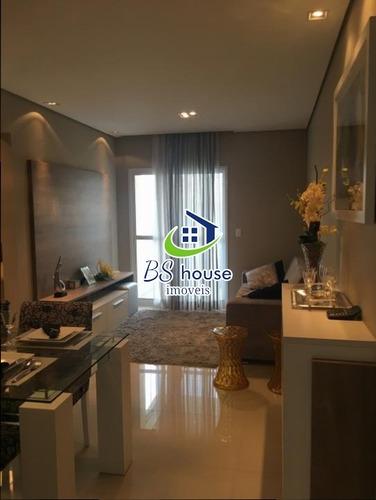lindo apartamento|varanda gourmet| 63 m² - 6483