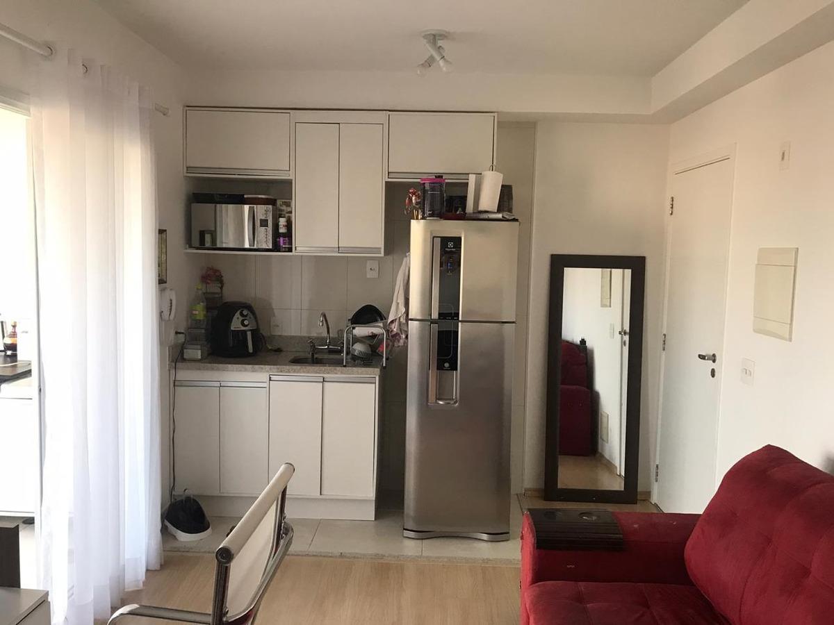 lindo apto 1 dorm c/armários e cozinha planejada.cod 83588