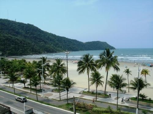 lindo apto 2 dorm, 1 suíte.frente a praia.no canto do forte me praia grande - codigo: ap5334 - ap5334