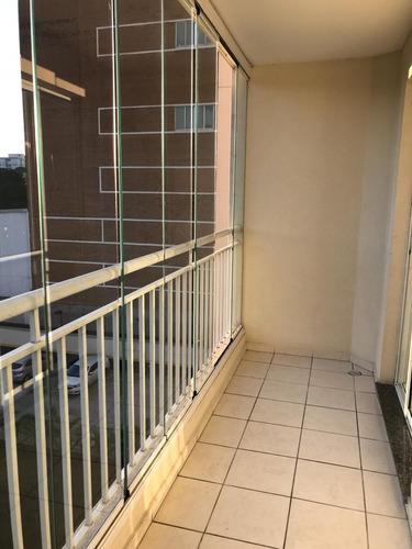 lindo apto. 2 dormitórios, 1 suíte, piso laminado. ref 80411
