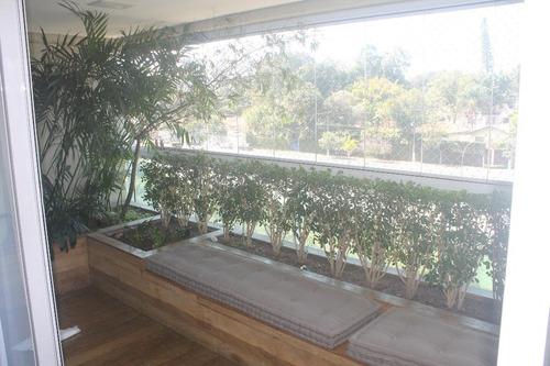 lindo apto mobiliado para locação no brooklin paulista! - ap10558