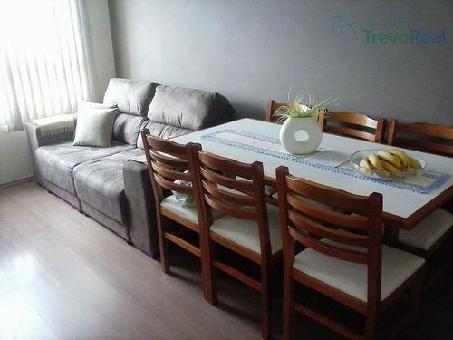 lindo apto pronto para morar com 2 dorm. à venda e locação, 50 m² por r$ 200.000,00 * - cond. vista valley - valinhos/sp - ap0597