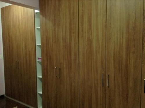 lindo apto repleto de armários. lazer 2 vagas fl63