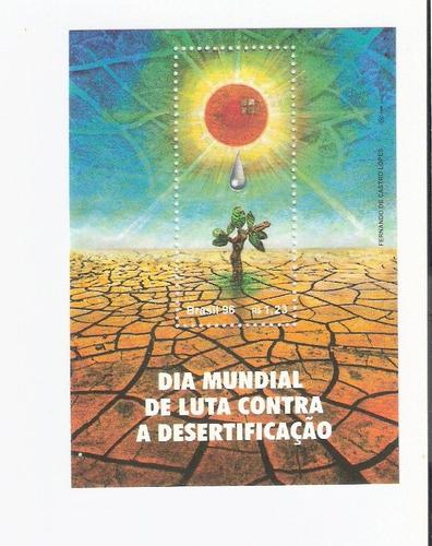 lindo bloco rhm b-105 - dia mundial luta sem desertificação