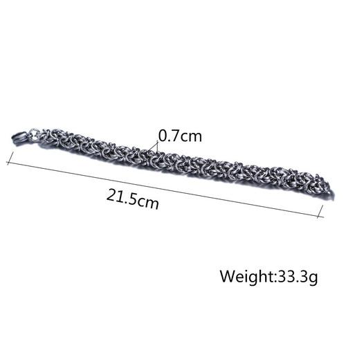 lindo bracelete  pulseira  aço cirúrgico 316l